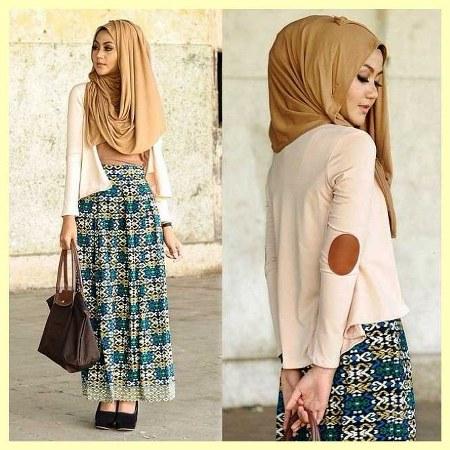 Padu Padan Baju Dan Rok Untuk Muslimah Cantik Dan Trendi Ide Model