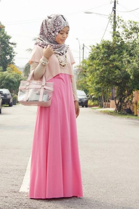 crop top+manset+sleeveless maxi dress
