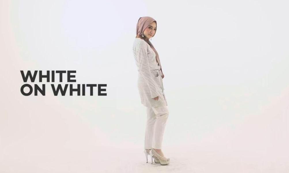 #6 White on White