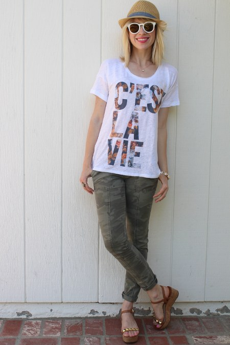 t-shirt-and-printed-pants
