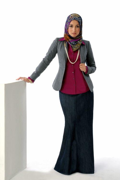 baju kerja wanita