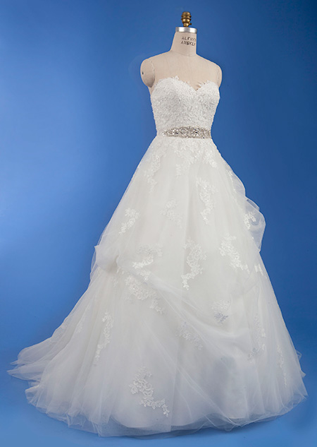 Disney princess' wedding dress