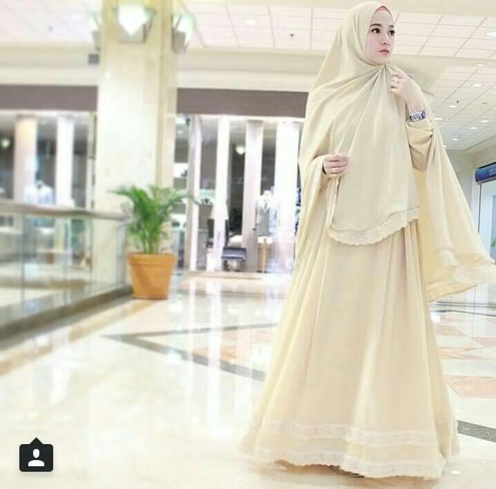 7 Model Baju Muslim Modern Untuk Lebaran 2017 Ide Model