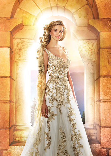 Disney's princess wedding dress