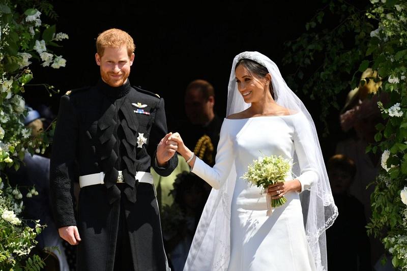 Keindahan Gaun Pengantin Kerajaan Meghan Markle