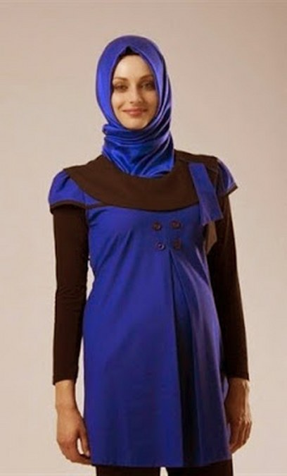Busana Muslim Ibu Hamil Untuk Kerja