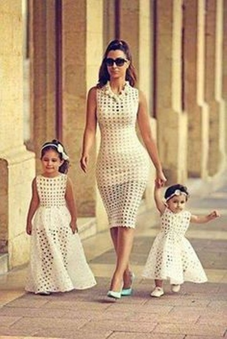 Gaun Pesta Ibu dan Anak