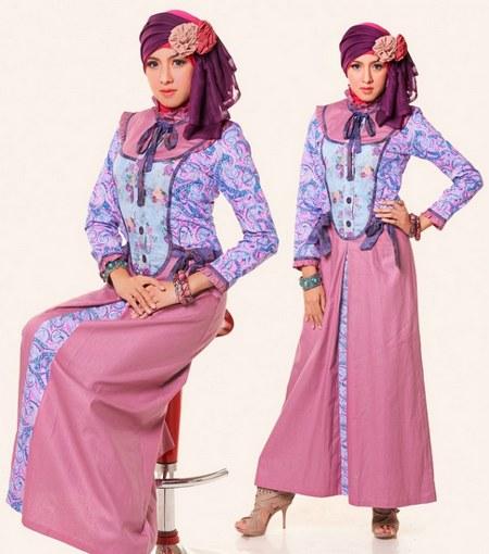 Baju-Muslim-Batik-Wanita