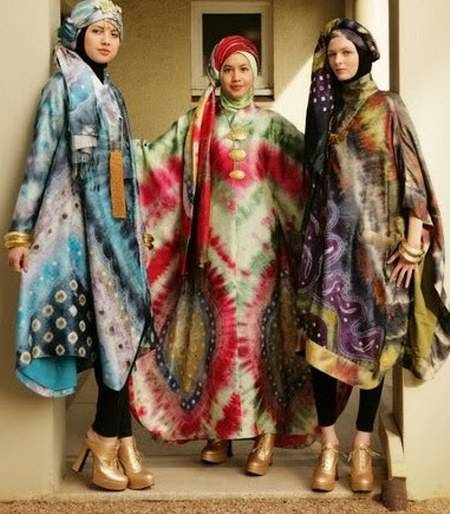 Dress-Batik-Muslim-Pesta-Modern
