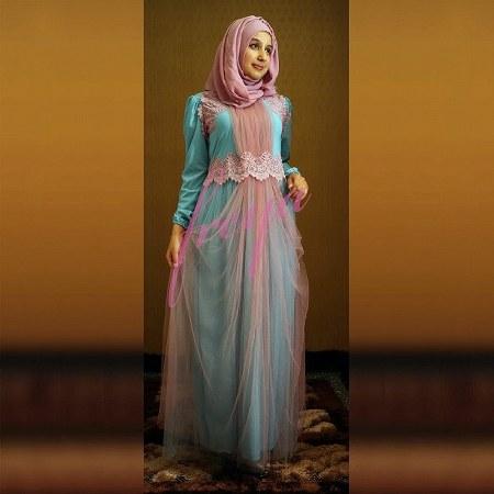 Fashion Model Baju Gamis Pesta Modern Yang