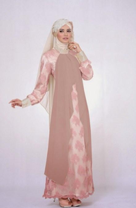 Foto Baju Muslim Kebaya Modern untuk Ibu Hamil Terbaru