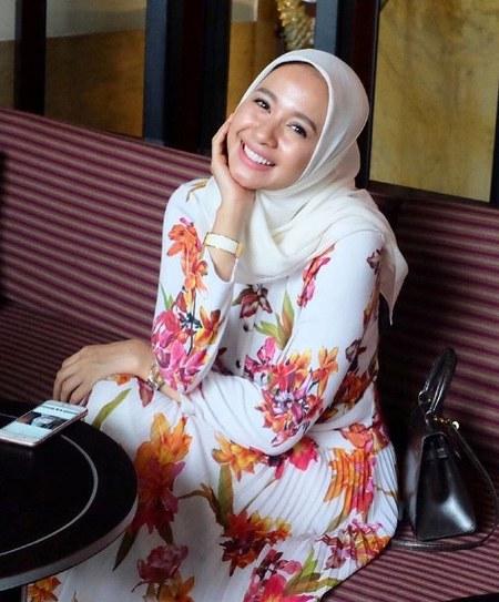 Hijab Laudya Cynthia Bella, Santai dan segar