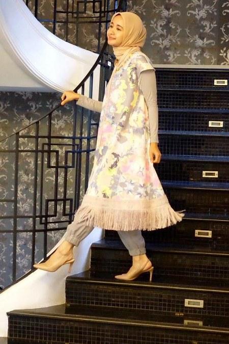 Inspirasi dari Busana Hijab Laudya Cynthia Bella (12)
