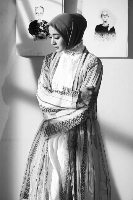 Inspirasi dari Busana Hijab Laudya Cynthia Bella (15)