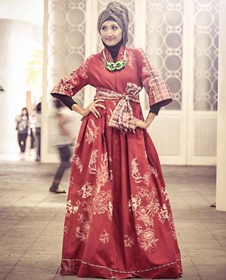gaun-pesta-batik