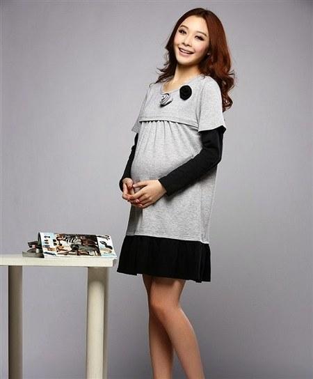Model Baju Hamil Modern Mini Dress 450x544 Ide Model Busana