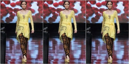 model kebaya modern simple dan elegan