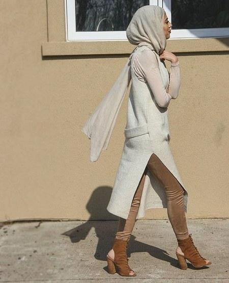 Dress Hijab dan Sepatu Boot (11)