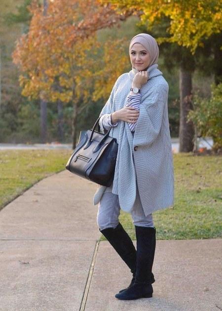 Dress Hijab dan Sepatu Boot (7)