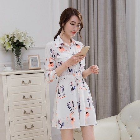 2016-spring-new-arrival-korean-style-womens-long-sleeved-chiffon-shirt-printing-slim-dress-floral-skirt-tide_450x450