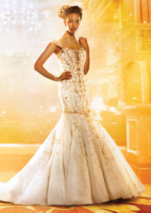 Disney's princess wedding dress