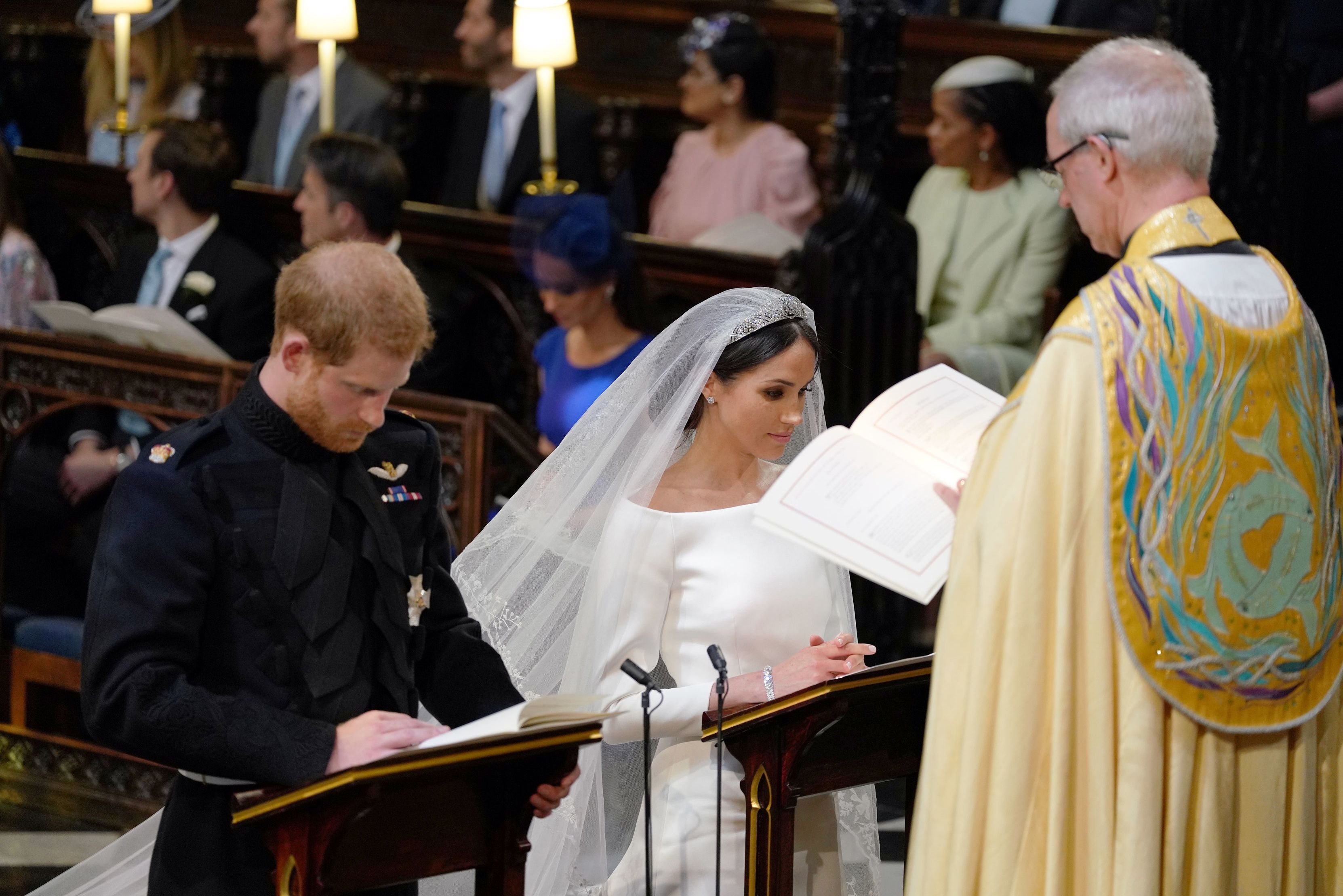 The wedding of Prince Harry and Meghan Markle, Ceremony, St George's Chapel, Windsor Castle, Berkshire, UK – 19 May 2018
