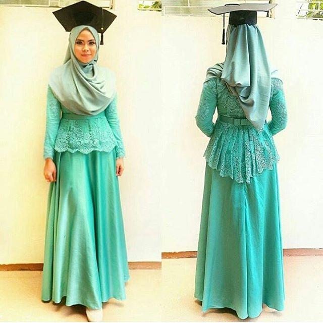 Inpirasi Hijab Wisuda Simpel